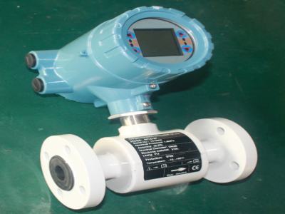 Cement slurry electromagnetic flow meter ship to Saudi Arabia