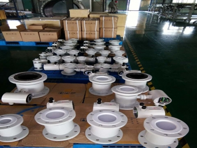 Another batch of magnetic flow meter will be completed