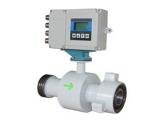 Union Connection Magnetic Flow Meter