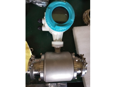 DN100 Sanitary type magnetic flow meter