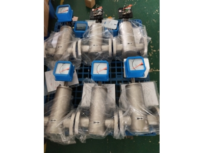 Metal tube rotameter production