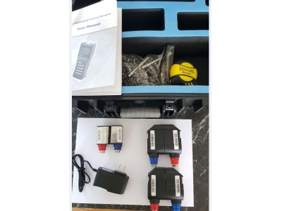 Handheld ultrasonic flow meter package