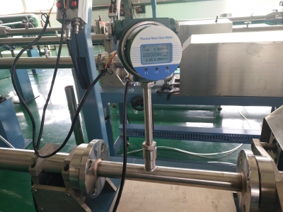 Calibration for thermal flow meter