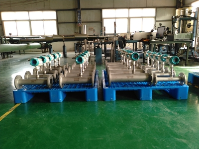 Large Quantity Thermal Mass flow Meter On production